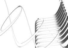 конструкция конспекта 3d Стоковое Фото