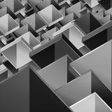 конструкция коробки Стоковые Изображения RF