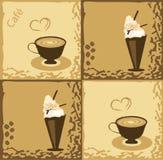 конструкция кофе Стоковая Фотография RF