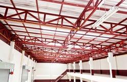 Конструкция крыши металла стоковые фото