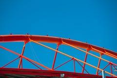 Конструкция крыши стальная стадиона Стоковые Фотографии RF