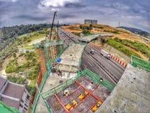 Конструкция Малайзии Стоковое фото RF