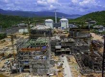 Конструкция масла & газового завода стоковое изображение