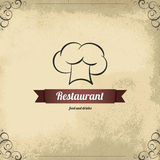 Конструкция меню ресторана Стоковые Изображения