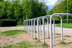 Конструкция металла в парке Стоковые Фото