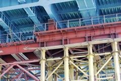конструкция моста вниз стоковое изображение