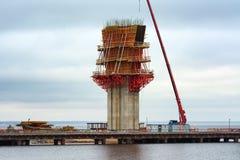 конструкция моста вниз Стоковое Изображение RF
