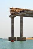 конструкция моста вниз стоковое фото rf