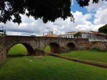 конструкция моста старая Стоковые Фотографии RF