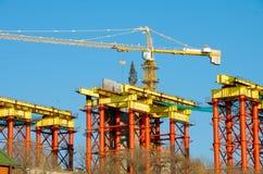 конструкция моста Стоковая Фотография