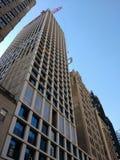Конструкция на улице запада 40th, деятельность крана, Манхаттан, NYC, США Стоковые Фотографии RF