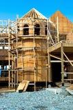Конструкция нового деревянного шланга Стоковое Изображение RF