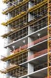 Конструкция нового здания Стоковые Изображения