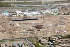Конструкция стадиона Стоковая Фотография