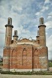 Конструкция новой мечети стоковая фотография rf