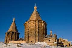 Конструкция новой христианской церков Стоковые Фото