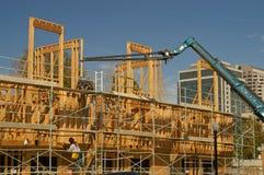 конструкция новый sacramento стоковое фото rf