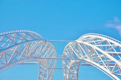 Конструкция Нью-Йорк театра взморья острова кролика Стоковые Изображения RF