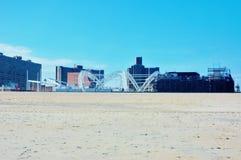 Конструкция Нью-Йорк театра взморья острова кролика Стоковые Фотографии RF