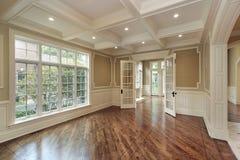 конструкция обедая домашняя новая комната Стоковая Фотография RF