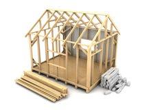 Конструкция дома рамки бесплатная иллюстрация