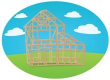 Конструкция дома Стоковые Фотографии RF