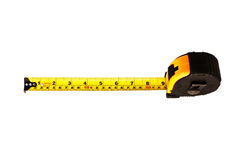 конструкция оценивая инструменты ленты измерения Стоковая Фотография
