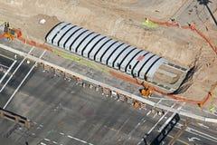 Конструкция пешеходного подземного перехода Стоковые Фотографии RF