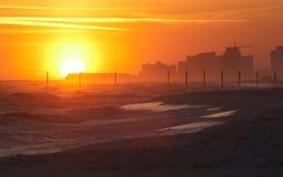 конструкция пляжа Стоковое Фото