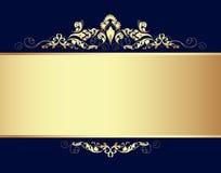 конструкция предпосылки золотистая Стоковые Фото