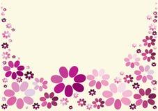 конструкция предпосылки флористическая Стоковые Изображения