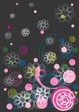 конструкция предпосылки флористическая Стоковое Изображение