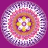 конструкция предпосылки цветастая Стоковая Фотография