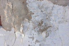 Конструкция предпосылки штукатурки старая стена Стоковые Фото