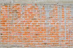 Конструкция предпосылки кирпичной стены grunge Стоковое фото RF