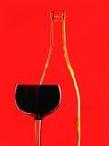 Абстрактная конструкция предпосылки вина Стоковые Изображения RF