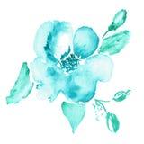 конструкция предпосылки флористическая идеально использует вектор ваш Акварель флористическая Стоковые Изображения