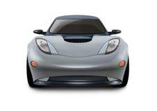 конструкция принципиальной схемы автомобиля 3d Стоковое Изображение RF