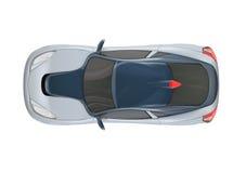 конструкция принципиальной схемы автомобиля 3d Стоковые Фотографии RF