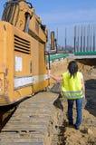 Конструкция работника тоннеля дороги Стоковая Фотография RF