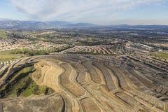 Конструкция ранчо портера новая домашняя в Лос-Анджелесе Стоковые Фото