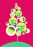 конструкция рождества карточки бесплатная иллюстрация