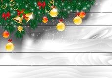 конструкция рождества предпосылок вы иллюстрация штока