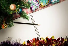 конструкция рождества предпосылки ваша Винтаж Стоковое фото RF