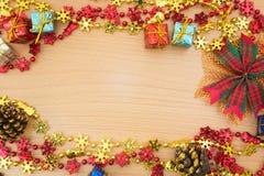конструкция рождества предпосылок вы Стоковые Изображения RF