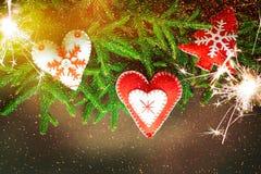 Конструкция рождества - с Рождеством Христовым Новый Год Стоковые Фото