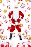 Конструкция Санта Клаус творческая Стоковое Изображение