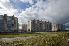 Конструкция современного жилого дома Стоковые Изображения