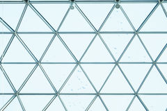 Конструкция стекла архитектуры Стоковые Фотографии RF