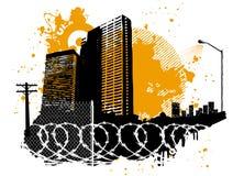 конструкция урбанская Стоковая Фотография RF